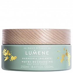 LUMENE Harmonia Nutri-Recharging Salt Body Scrub 250 ml