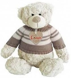 Lumpin Spencer medve pulcsiban