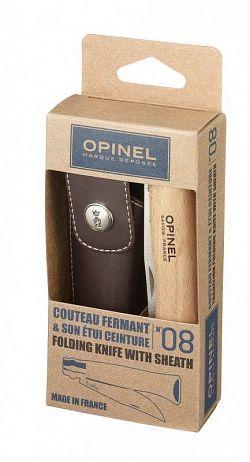 Opinel, VRI N ° 08 Carbon egy doboz