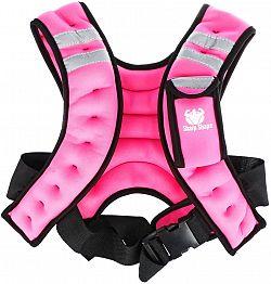 Sharp Shape Weight vest pink