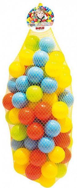 Színes műanyag golyók - 100db