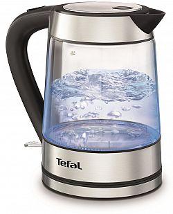 Tefal KI730D30 Glass vízforraló rozsdamentes acél elemekkel