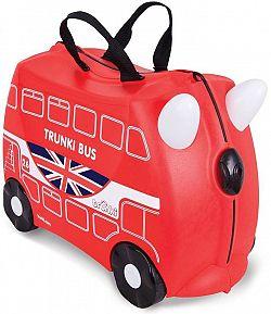 Trunki gurulós gyermekbőrönd - autóbusz