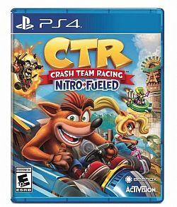 Crash Team Racing Nitro Fueled PS4 játék