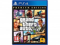 Games Grand Theft Auto V Premium Edition PS4