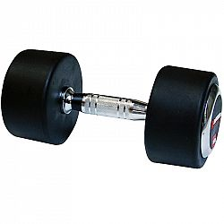 Edzőtermi gumírozott súlyzó inSPORTline 40 kg