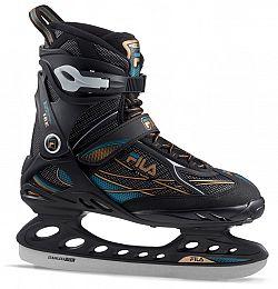 Férfi jégkorcsolya Fila Primo Ice Black/Blue/Bronze - II. osztály