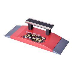 Fingerboard - X Skatepark WORKER mini rámpa - pados