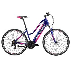 Női cross elektromos kerékpár Crussis e-Cross Lady 1.4 -2019- es modell