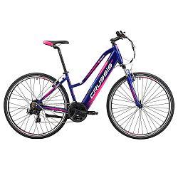 Női cross elektromos kerékpár Crussis e-Cross Lady 1.4-S - 2019