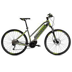 Női cross elektromos kerékpár Crussis e-Cross Lady 7.4-S - modell 2019