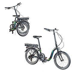 Összecsukható elektromos kerékpár Devron 20122 20