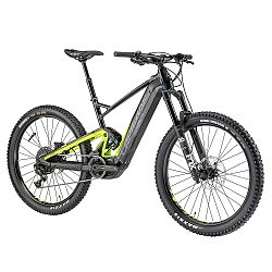 Összteleszkópos elektromos kerékpár Lapierre Overvolt Shimano AM 627i 27,5