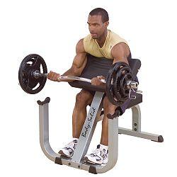 Scott pad Bicepsz erősítő gép
