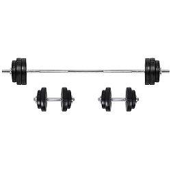Súlyzókészlet inSPORTline BS08 3-50 kg