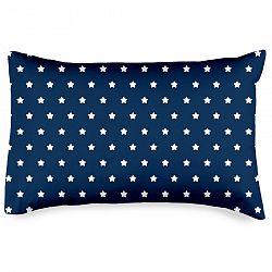 4Home kispárnahuzat Stars navy blue, 50 x 70 cm, 50 x 70 cm