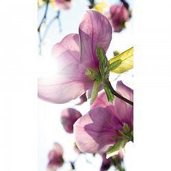 AG ART Flowers Purple függöny, 140 x 245 cm