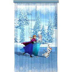 AG ART Jégvarázs Frozen on ice gyerek függöny, 140 x 245 cm