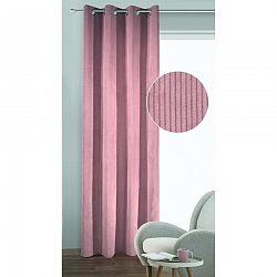 Albani Brit sötétítő függöny karikákkal, rózsaszín, 135 x 245 cm