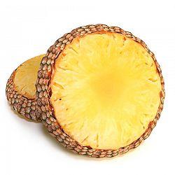Ananász formázott 3D párna, 40 cm