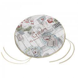 Bellatex Ema Terasz ülőke, kerek, sima, 40 cm