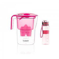 BWT Vida vízszűrő kancsó 2,6 l, rózsaszín + ajándék outdoor spor palack