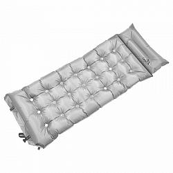 Cattara Önfelfújódó camping matrac Midnight szürke