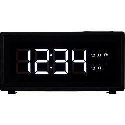 ECG RB 040 Digitális radiós ébresztőóra, fekete