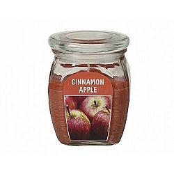 Gyertya üvegben Alma fahéjjal, 430 g