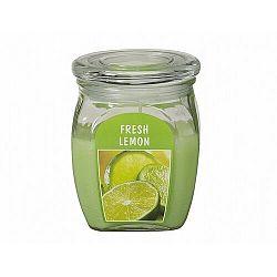 Gyertya üvegben Citrom, 430 g