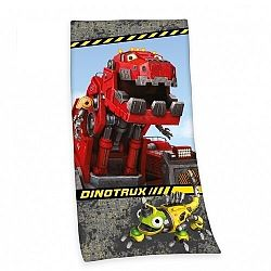 Herding DinoTrux fürdőlepedő, 75 x 150 cm
