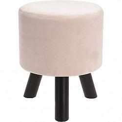 Koopman Puff Velvet Cream, 30 x 38 cm