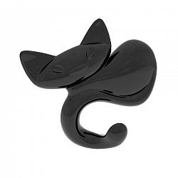 Koziol Miaou akasztó, fekete