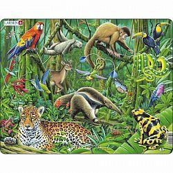 Larsen Puzzle Dél-amerikai esőerdő, 70 darab