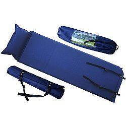 Önfelfújható alvómatrac, 186 x 53 x 2,5 cm, felfújható párnával
