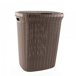 Orion Knit Hobby műanyag szennyeskosár, 55 l