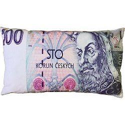 Párna Bankjegy 100 kč, 35 x 60 cm