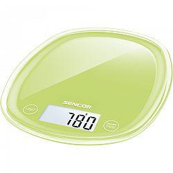 Sencor SKS 37GG konyhai mérleg, zelená