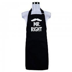 Sikk a konyhában konyhai kӧtény férfiaknak Mr. Right, 70 x 75 cm