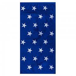 Stars törölköző, kék, 70 x 140 cm