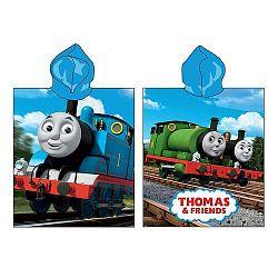 Thomas, a gőzmozdony gyermek poncsó, 50 x 115 cm