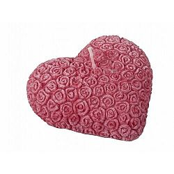 Valentin napi gyertya Szív, piros