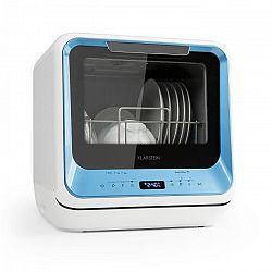 Klarstein Amazonia Mini, mosogatógép, 6 program, LED kijelző, kék