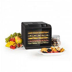 Klarstein Arizona Jerky, gyümölcsszárító, 500 W, 35 - 70 °C, digitális érintésvezérelt kijelző, fekete