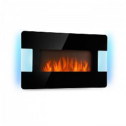 Klarstein Belfort Light & Fire, elektromos kandalló, 1000/2000 W, fekete