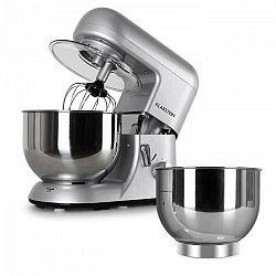 Klarstein Bella Argentea készlet, konyhai robotgép + kiegészítő tál, ezüst