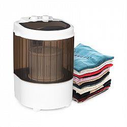 Klarstein Dash Duo, mosógép, 180 W, 2,5 kg, 0-15 perces időzítő, cipőkefe, fekete