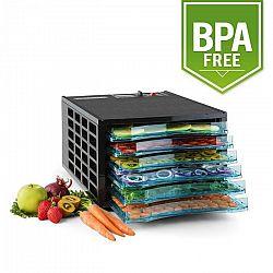 Klarstein Fruit Jerky 6, szárítógép, dehidrátor, 630 W, 6 emelet, BPA mentes