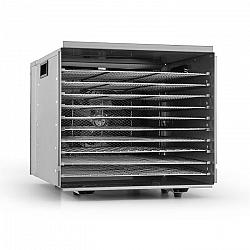 Klarstein Fruit Jerky Pro 10, 1000 W, szárítógép, dehidrátor, 10 emelet, rozsdamentes acél