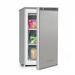 Klarstein Garfield XL, fagyasztószekrény, 75 l, A+ osztály, állítható termosztát, ezüst